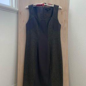 Rachel Roy Size 12 Formal Navy & Grey Dress